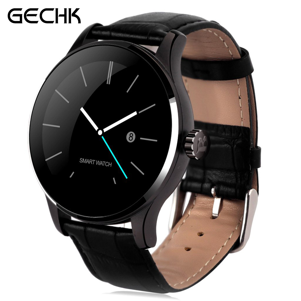 ФОТО Original Smart Watch Track Wristwatch MTK2502 Bluetooth K88H Smartwatch Heart Rate Monitor Pedometer Dialing For Android IOS