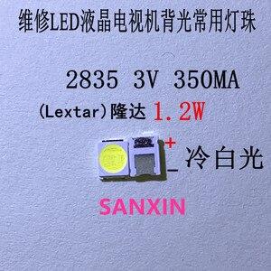 100 шт. оригинальный LEXTAR 2835 3528 1210 3 в 2 Вт SMD LED для ремонта ТВ ПОДСВЕТКА холодный белый ЖК подсветка LED