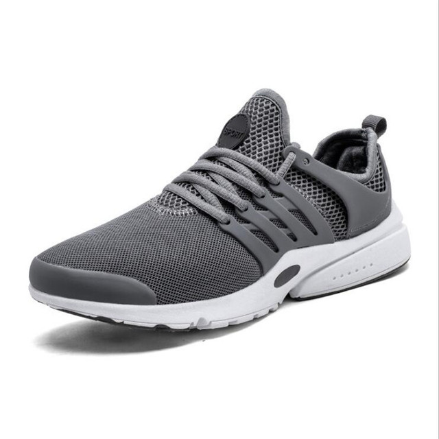 ac5d7afae7324 VIXLEO Running Shoes Light Weight Mesh Sports Shoes Black White Jogging Y3  Sneakers For Man Outdoor Flat Walking Trend Shoes