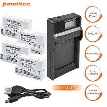 4X 1800mah LP-E8 LPE8 LP E8 Battery Batterie AKKU + LCD Dual Charger for Canon EOS 550D 600D 650D 700D X4 X5 X6i X7i T2i T3i L15
