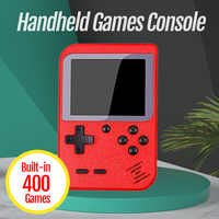 New Video Games Console Built-in 400 Retro Classic Games 3.0 Inch Screen Portable Mini Handheld Game Player