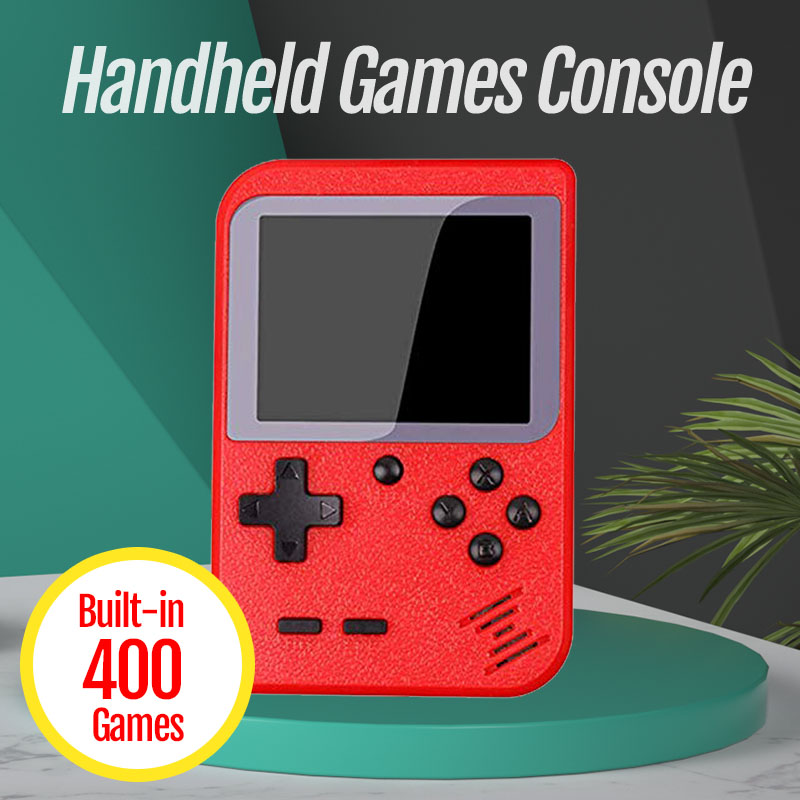 Nova Consola de Jogos de Vídeo Embutido 400 Jogos Retro Clássico 3.0 Polegada Tela Portátil Mini Jogador Handheld Do Jogo