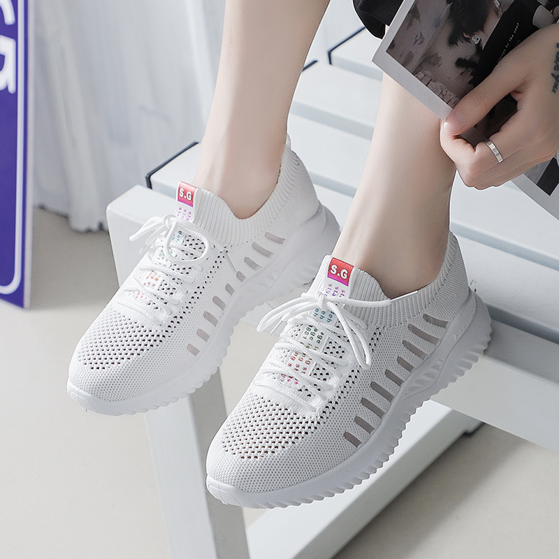 Leader Show Athletic Shoes For Woman Solf Light Outdoor Women Sneakers Brand New Zapatillas Mujer 2019 Trend Sneaker For Woman 3