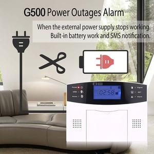 Image 5 - Wireless smart Home Security GSM Alarm System Intercom haus Fernbedienung Autodial Sirene Sensor Kit