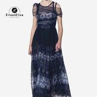 Элегантное женское платье Весна 2019 Новые Роскошные вечерние длинное платье Высокое качество женское шёлковое платье Vestidos
