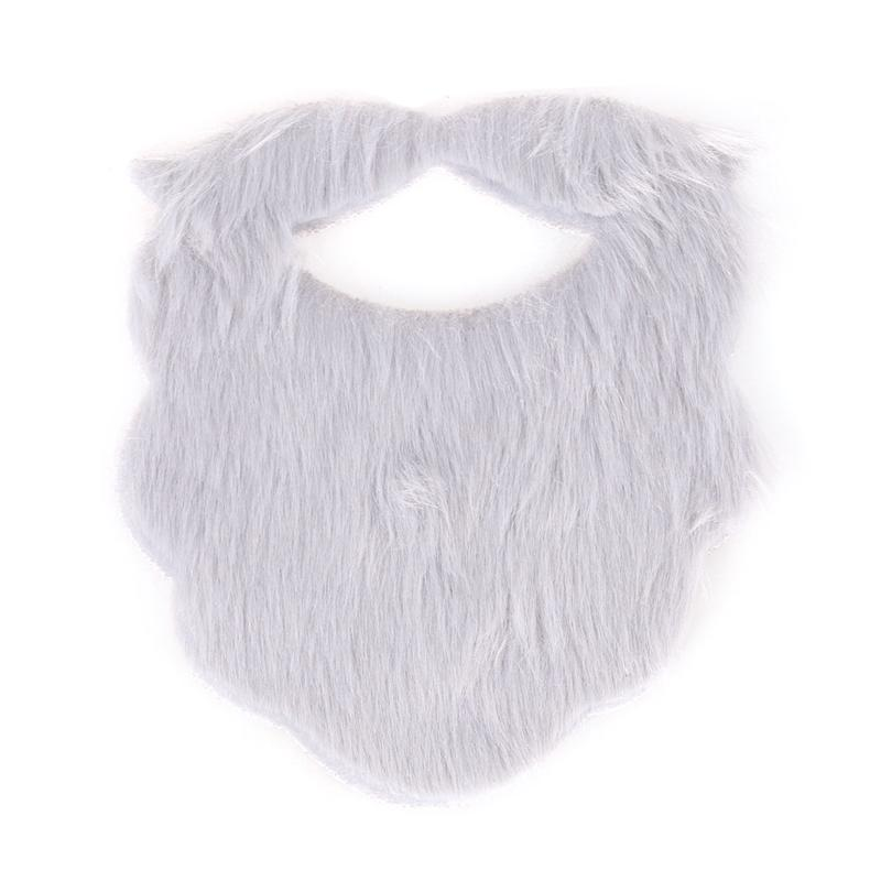 Halloween Costume Party Fake Mustaches Funny Beards Whisker Festival Supplies (Gray)(China)