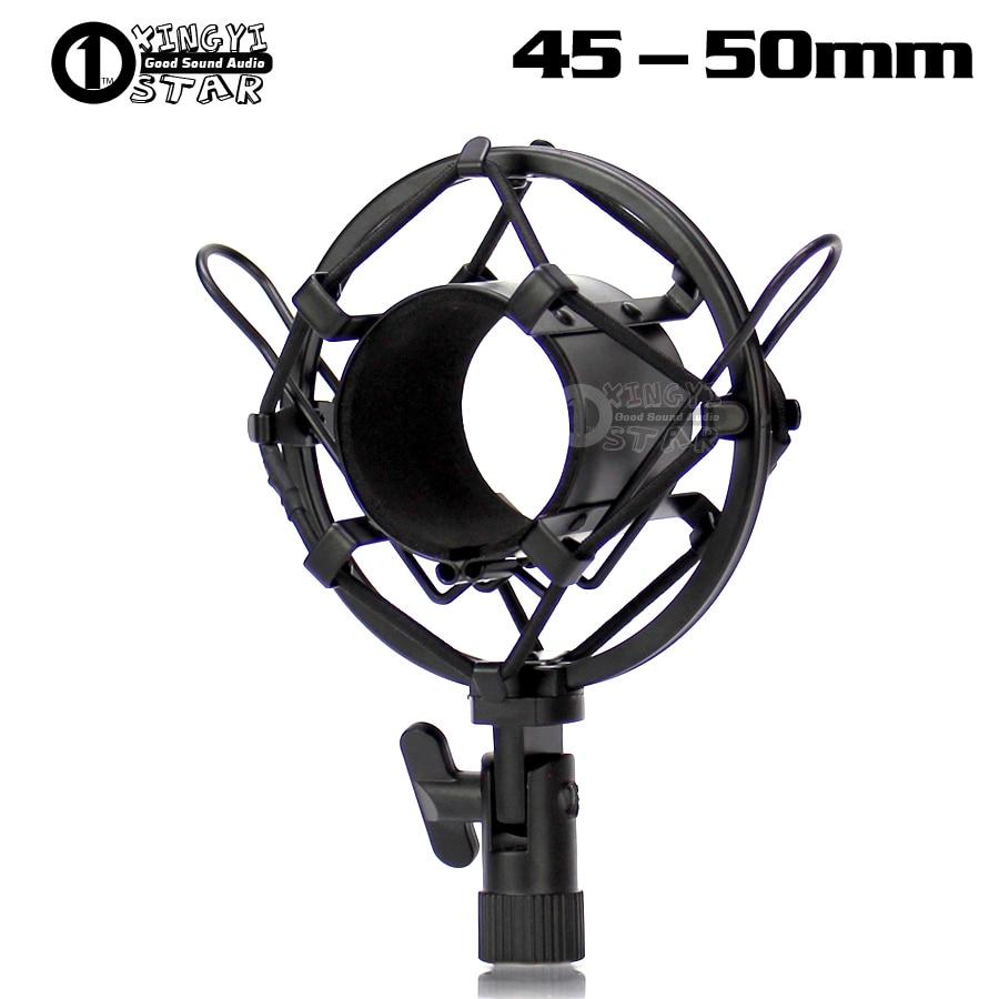 Mikrofonstativ Unterhaltungselektronik 5 Cm Metall Spinne Mikrofon Shock Mount Halter Stoßfest Suspension Mic Stand Shockmount Clip Für Audio Technica Atr2500 Ae3000 Ausgereifte Technologien