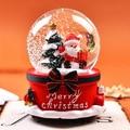 Weihnachten Kristall Ball Nacht Lichter Musik Box Schneemann Santa Led Globus Tisch Lampe Weihnachten Liebhaber Hochzeit Schlafzimmer Decor Partei Liefert-in LED-Nachtlichter aus Licht & Beleuchtung bei