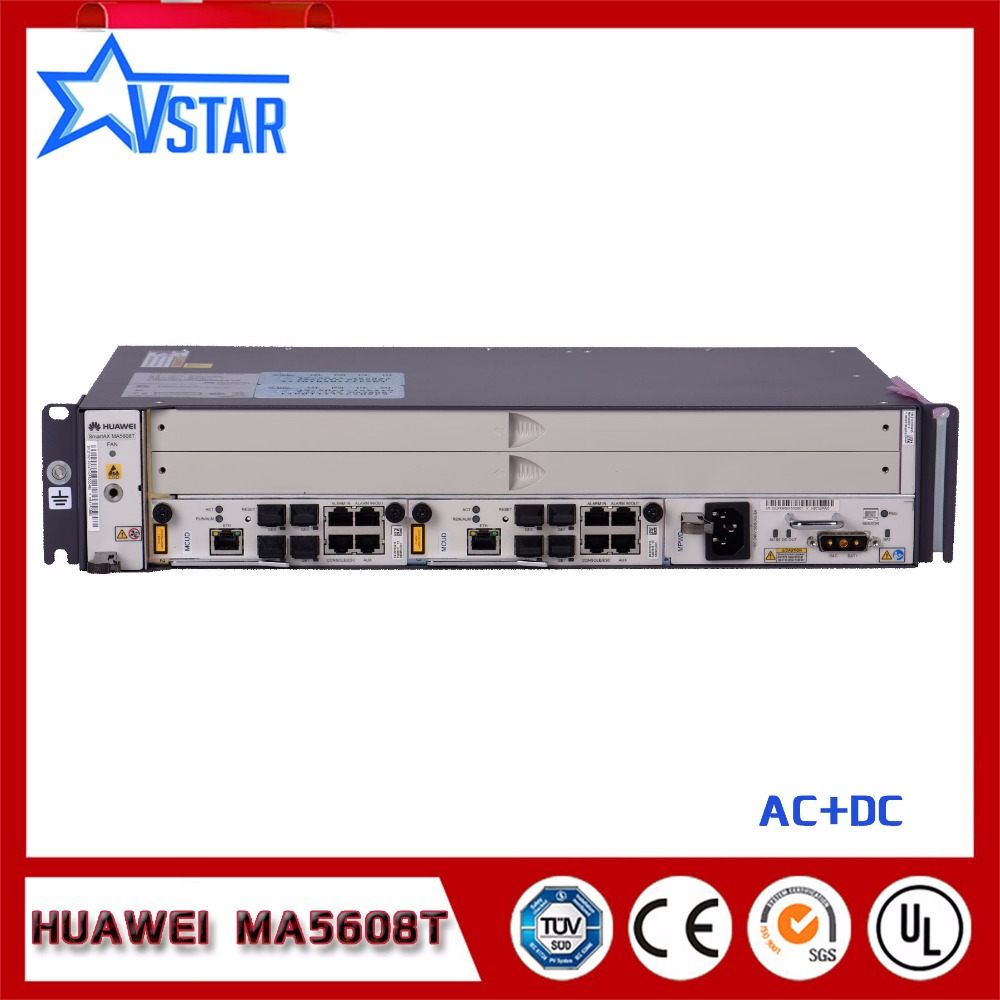 Original and brand new HUA WEI <font><b>MA5608T</b></font> OLT AC+DC power image