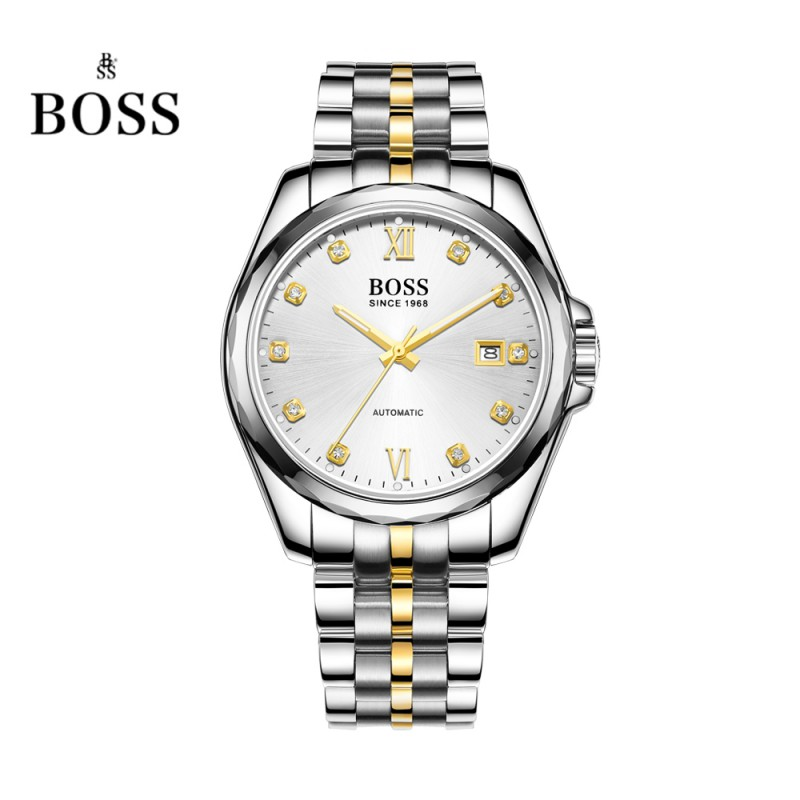 BOSS Germany watches font b men b font luxury brand dayjust 21 jewels MIYOTA CO JAPAN