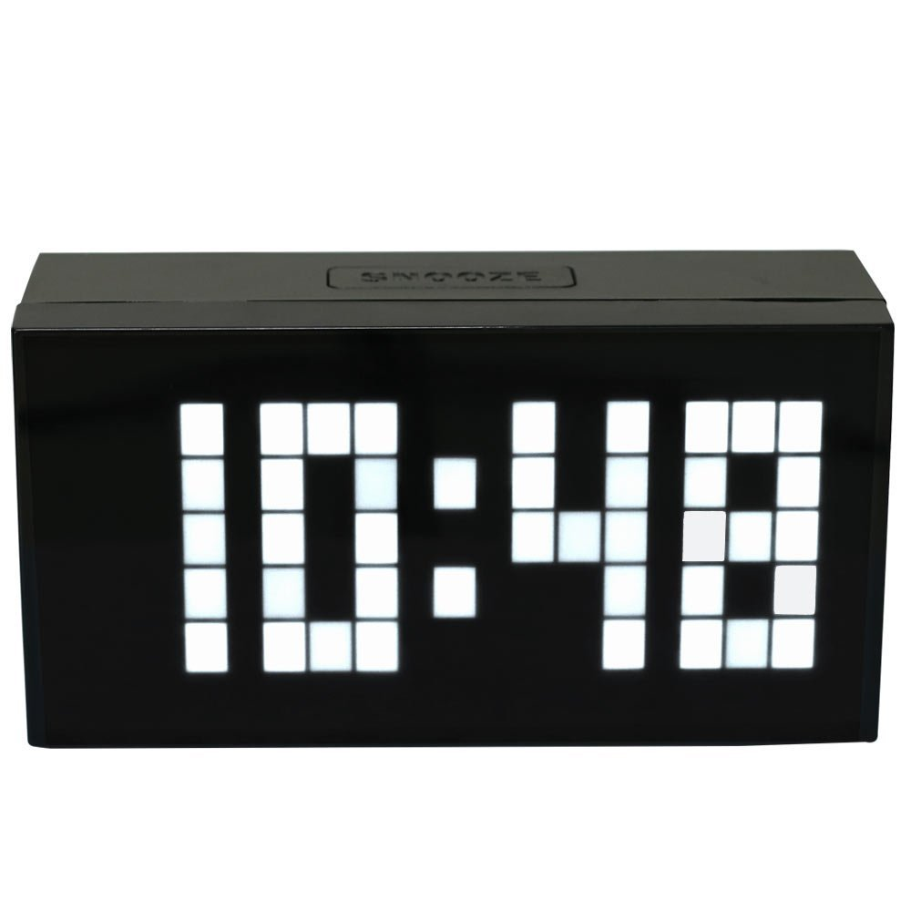 Μεγάλοι αριθμοί Ψηφιακό ρολόι τοίχου - Διακόσμηση σπιτιού - Φωτογραφία 5
