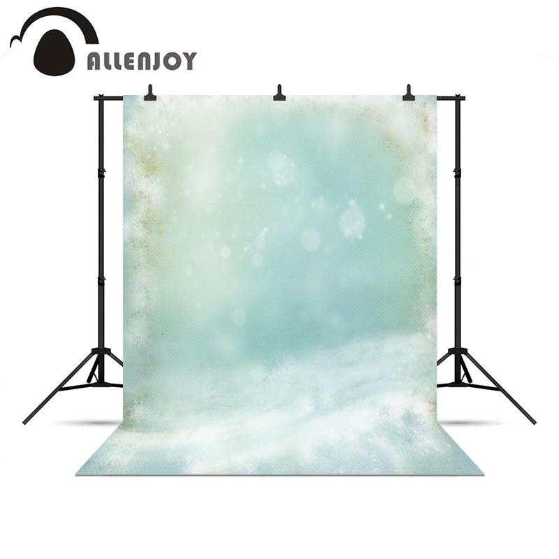 Allenjoy photocall Blue Fantasy blur bokeh winter snow ...