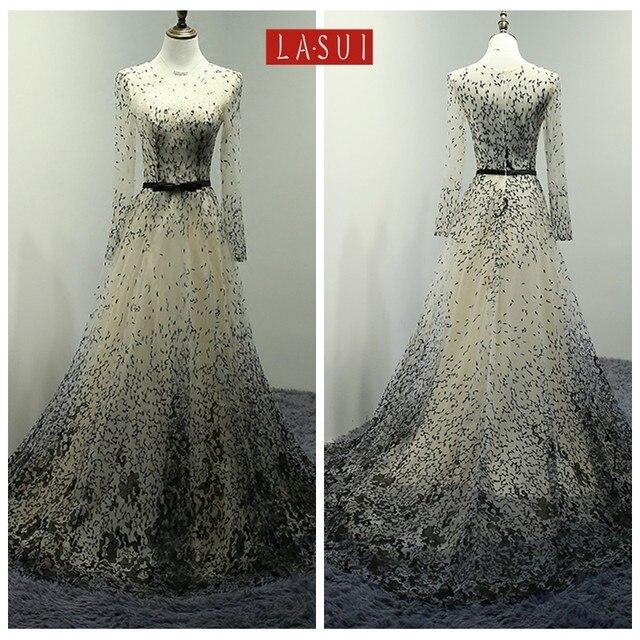 Online Shop LASUI 8 colors classic Plant flowers embroidery lace ...