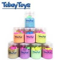 500 gr/teile Neue Bunte Kühe Sand Spielzeug Mit Werkzeuge Dynamische Kinder Bildungs Magie Knetmasse Strand Raum Sand Spielzeug Für Kinder