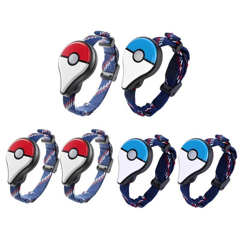 Alliage 2 pcs/lot Bracelet Bluetooth Bracelet pour pokémon Go Plus figurine Interactive jouet accessoire de jeu