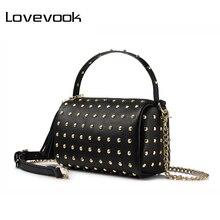 LOVEVOOK brand chain shoulder bag for women small handbag pu