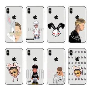 Bad Bunny Coelho Maluma Ozuna POP хип-хоп рэппер Мягкий Силиконовый ТПУ чехол для iPhone X 8 7 6 Plus 5 4 XS XR Xmax