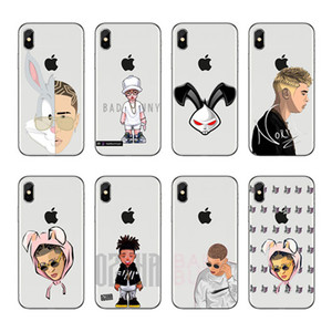 Bad Bunny Coelho Maluma Ozuna POP Hip Hop Rapper, мягкий силиконовый чехол из ТПУ, чехол для iPhone X 8 7 6 Plus 5 4 XS XR Xmax