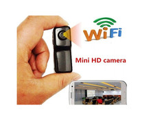 Mini Wifi Ip Wireless Surveillance Camera Remote Cam Support Android Iphone PC Viewing