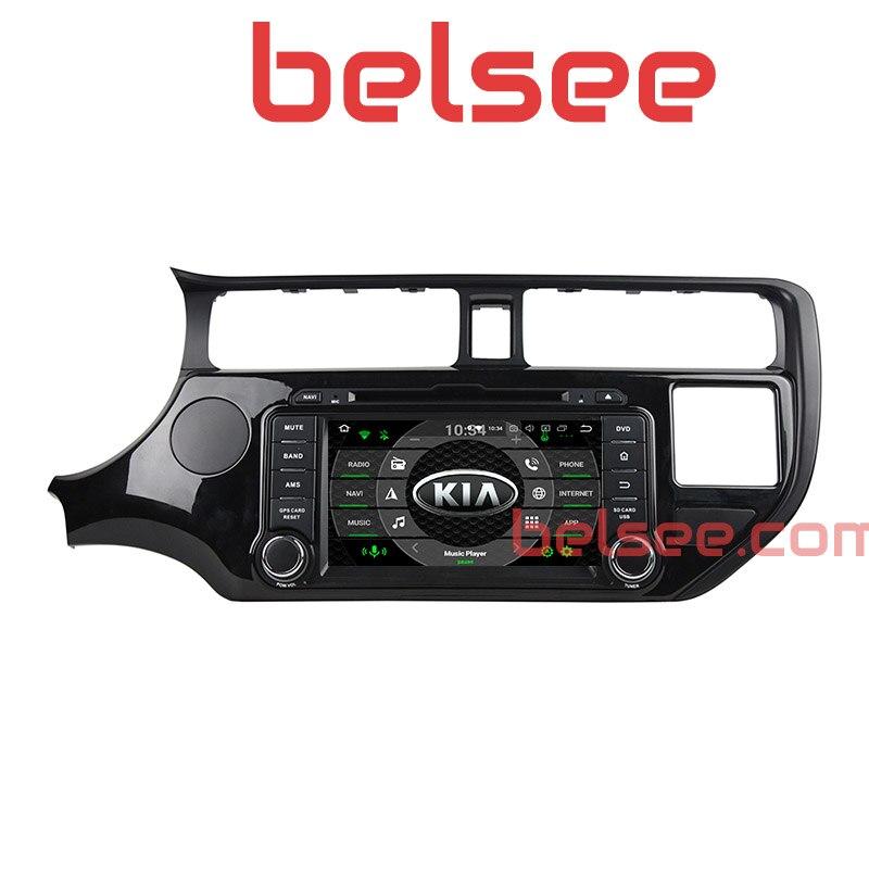 Belsee Восьмиядерный PX5 4 ГБ Android 8,0 Oreo автомобиль радио dvd-плеер навигации Мультимедиа Автомагнитолы для Kia Rio 2011 2012 2013 2014