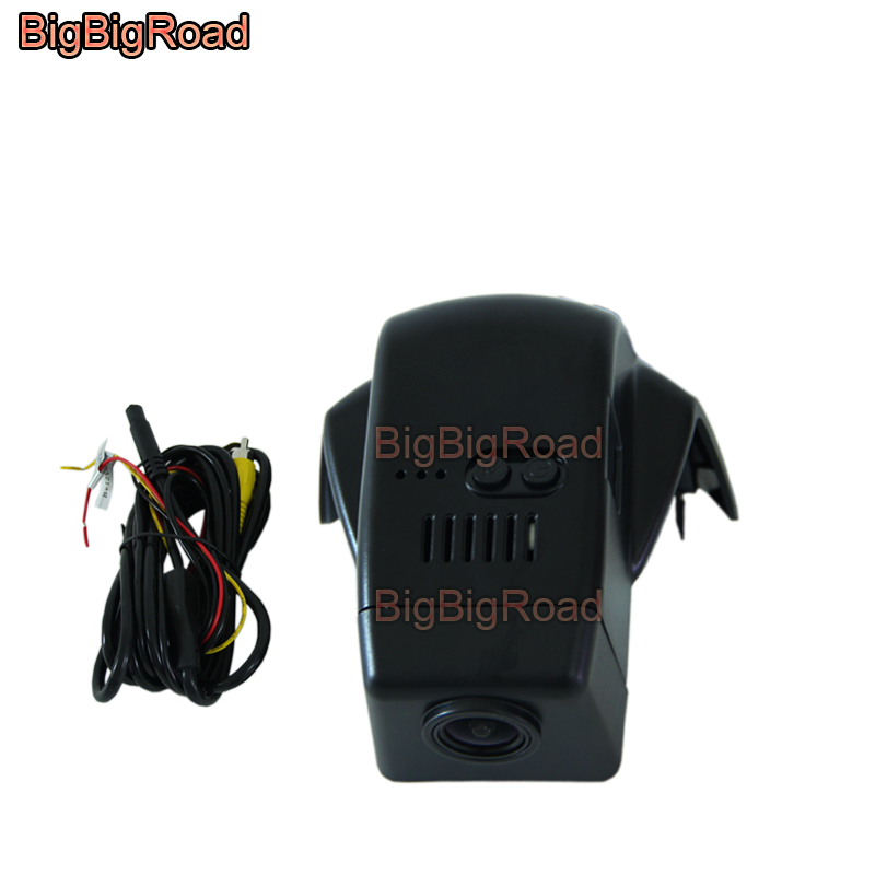 BigBigRoad Car wifi DVR Video Recorder Dashcam Camera For <font><b>volvo</b></font> XC90 <font><b>XC</b></font> <font><b>90</b></font> 2015 2016 <font><b>2017</b></font> 2018 Wide Angle image