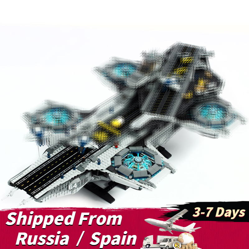 Mailackers Super Heroes Avenger Figure Blocks Set The Shield Aircraft Carriers Compatible With Marvel Movie Toys