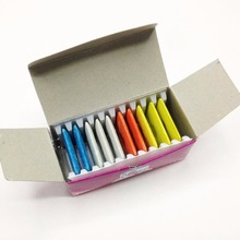 10PCS Sewing Machine Parts Triangle Tailor's Chalk Quilting Dressmakers Chalk Box Packaging Tailoring Accessories