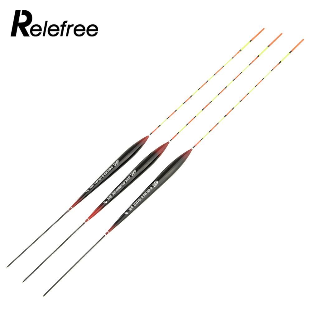 Relefree 3pcs box lot lake coarse fishing pole floats for Fishing bobbers bulk
