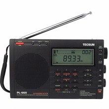 Tecsun PL660 FM Radio VHF Aire SSB PLL Banda de Radio Estéreo FM/MW/SW/LW Dual Conversion receptor Degen Radio Estación Portátil Y4133A