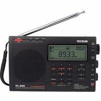 Tecsun PL660 FM Radio PLL SSB VHF Ban Nhạc Air Radio FM Stereo/MW/SW/LW Kép Chuyển Đổi Receiver Degen Đài Phát Thanh Xách Tay Trạm Y4133A