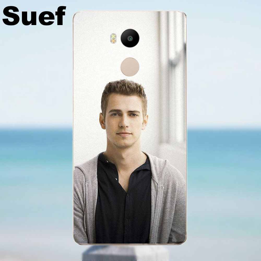 Suef Hayden Christensen Estrela Telefone Projeto Macio Para Xiaomi Redmi 4 3 3 S Pro Mi3 Mi4 Mi4i Mi4C Mi5 Mi5S Mi Max Nota 2 3 4