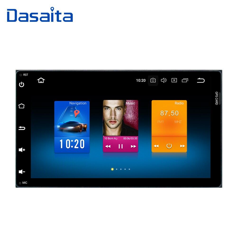 Dasaita 9 Android 8.0 Lecteur DVD de Voiture pour Toyota Corolla Auris Fortuner 2017 avec Octa Core 4g + 32g Auto Radio Multimédia NAVI
