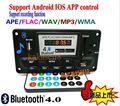 4.0 Bluetooth MP3 Декодирование Доска СВЕТОДИОДНЫЙ Модуль 12 В DIY USB/SD/MMC APE ДЭ FLAC WAV Декодер Запись Mp3-плеер AUX FM Папки Переключатель