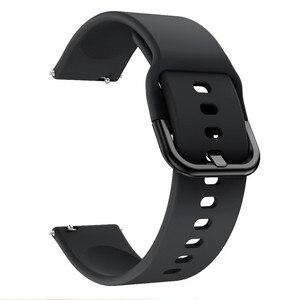 Image 4 - Silikon saat kayışı Kayışı Garmin Vivoactive 3 Müzik/Forerunner 645 245 245M akıllı bilezik Spor Watchband Correa Bant