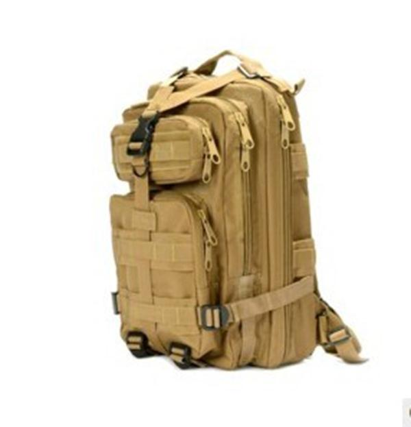 Military Tactical Pack Backpack Army Molle Khaki Rucksack Bag for Outdoor Hiking Camping Hunting lqarmy 3 day expandable backpack with waist pack large rucksack tactical backpack molle assault bag for day hiking tan