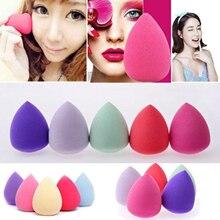 1 Uds maquillaje suave profesional base cosmética Puff agua gota calabaza forma esponjas para maquillaje de cara lisa herramientas de belleza