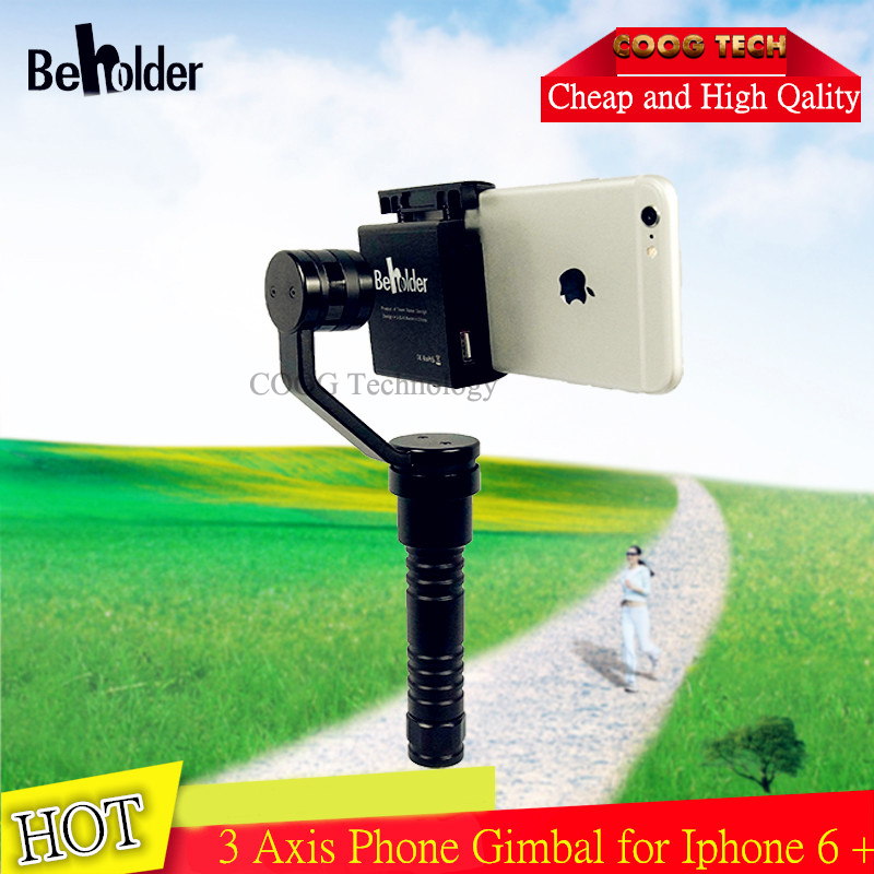 2016 Beholder Smart Phone SP 3 Handheld Axis Gimbal Stabilizer for Smartphone iPhone6 Plus