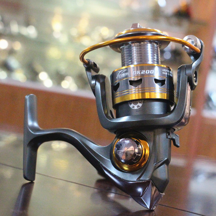 Lizard fishing11BB German technology 1000 6000 series full metal spool hot sale for bait carp feeder