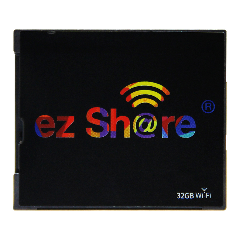 2018 new free shipping Ez share wifi cf Card 32G DLSR Camera wireless 7D highspeed 5D2 CF memory card with WIFI card hot sold a66l 2050 0025 b fanuc cf card connector 1pc new dhl free shipping