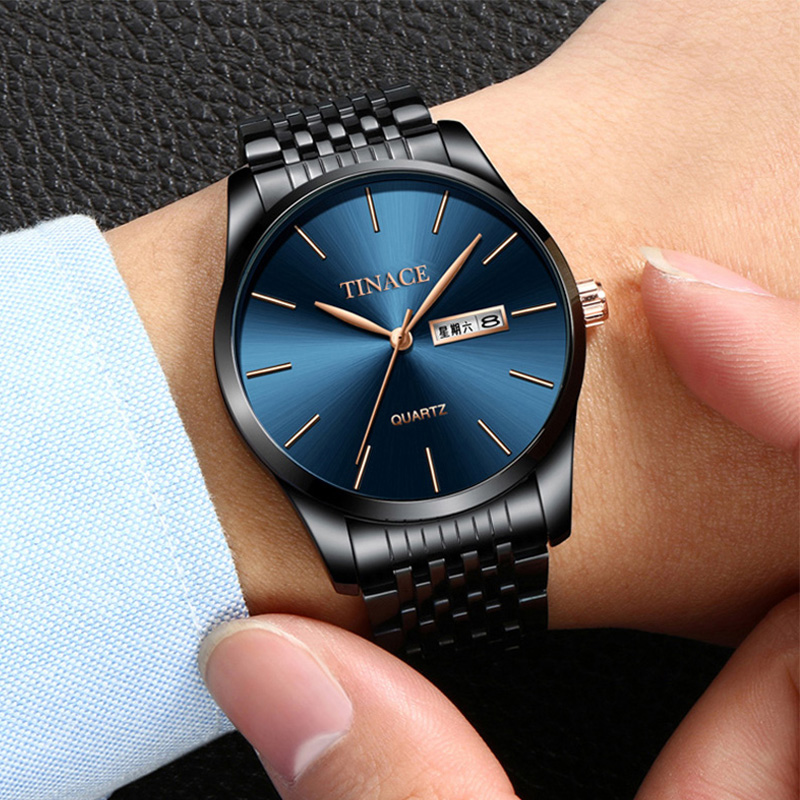 Watch Men Fashion Sports Quartz Clock Mens Watches Top Brand Luxury Full Steel Business Waterproof Watch Relogio Masculino