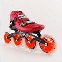 Adults/Children Professional Speed Inline Skates High Quality Carbon Fiber Patins 4 wheels Roller Shoes patines en linea