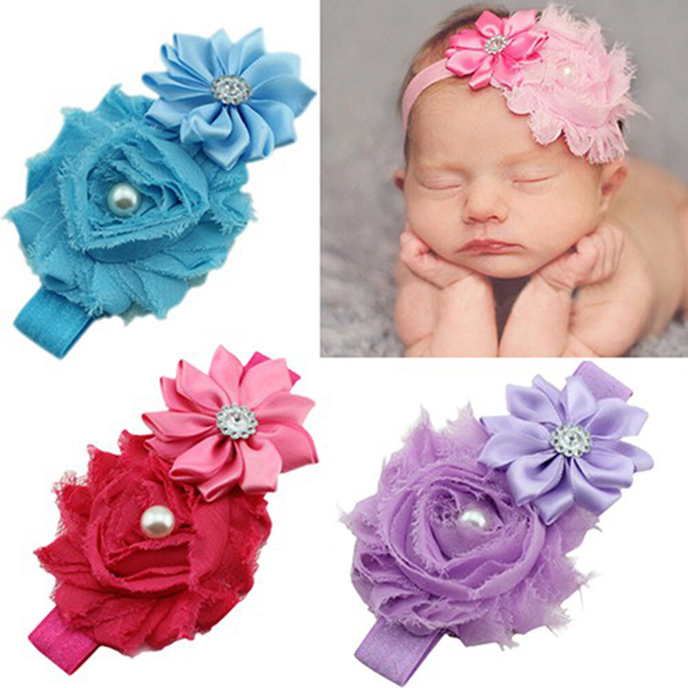 Baby Headbands Headwear Girls Hairband Head Band Infant Newborn Toddlers Gift Tiara Hair Accessories Clothes
