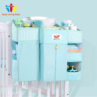Baby Crib Bed Hanging Storage Bag Baby Bed Organizer Newborn Cot Crib Bedding Set Child Kid Storage Baby Bedding Sets