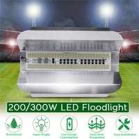 Proyector de luz LED de inundación para exteriores, reflector de alta potencia impermeable de 200/300W, de 18000LM, iluminación de pared de AC180-260V para exteriores