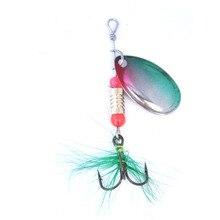 OLOEY vissen lokken met haken vissen lepels worm wobblers trolling vissen lokt topwater spinner garnalen inktvis Pesca Isca