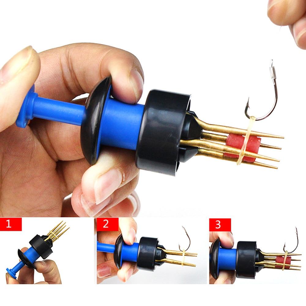 1000 x WHITE /& RED Match Fishing Carp Micro Pellet Bait Bands Bundle