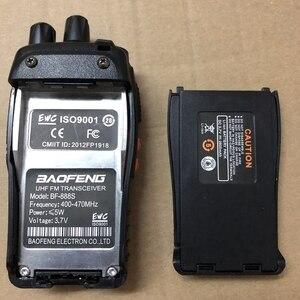 Image 5 - 2 sztuk Baofeng bateria bf 888s walkie talkie 1500mAh li bateria BAOFENG BF 888S 777S 666S Walkie Talkie 2800 przycisk domofon radio