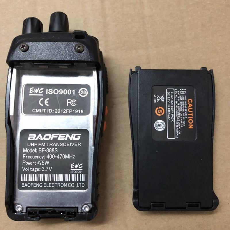 Image 5 - 2pcs Baofeng Battery bf 888s walkie talkie 1500mAh LI Battery BAOFENG BF 888S 777S 666S Walkie Talkie 2800 Button Intercom radio-in Walkie Talkie from Cellphones & Telecommunications