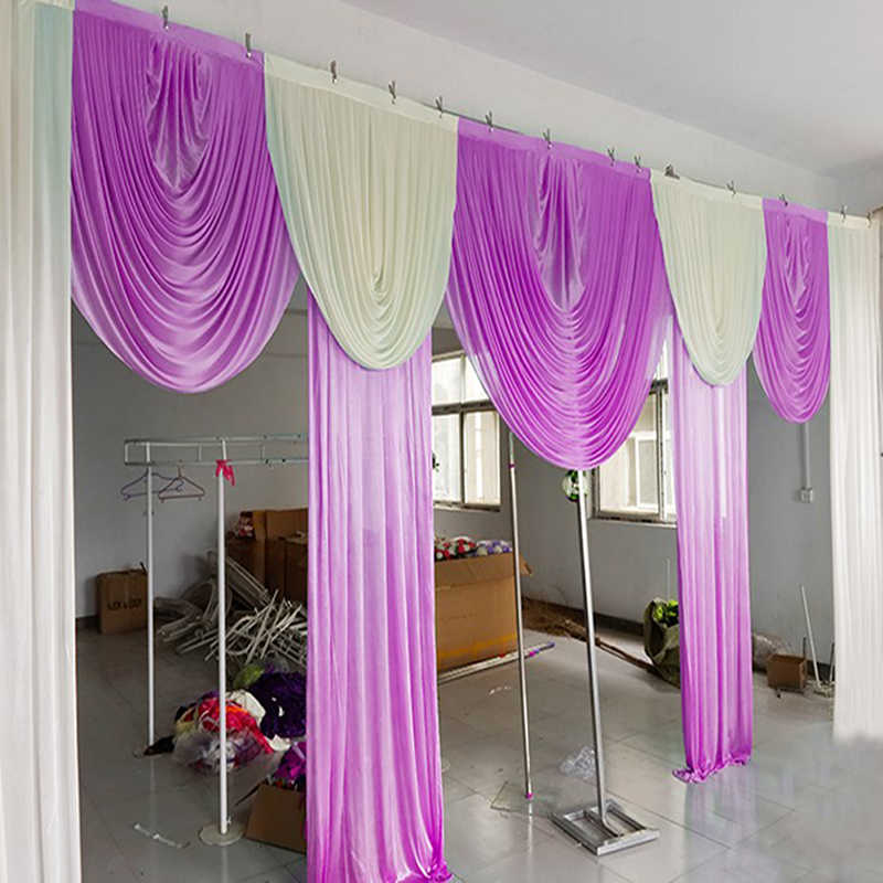 20ft Swags For Background Luxury Wedding Backdrop Swags Drapes