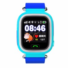 Bestselling Child Smart Watch Q90 Anti-lost Kid Watch Support SOS Call GSM Clock GPS+AGPS+LBS+GPRS Tracker Watch